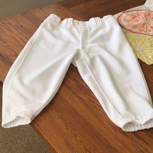 Mizuno short baseball pants
